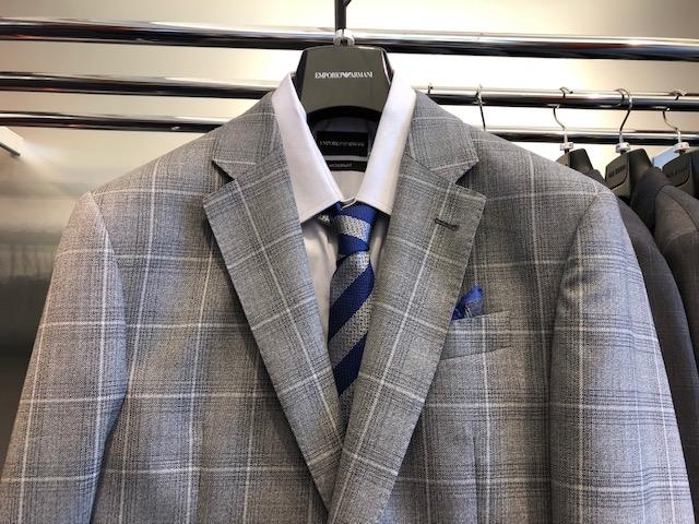 Grey Armani Suit from Paul Puncher, Giorgio Armani Menswear Waterloo